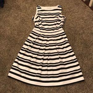 White House Black Market Stripped Dress Size 6